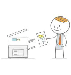 Photocopier vector
