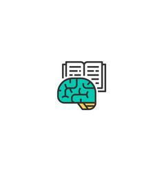 research icon design startup icon design vector image