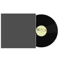 Vintage vinyl record vector