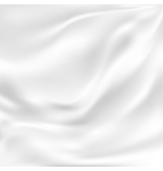 Abstract Texture White Silk vector image vector image