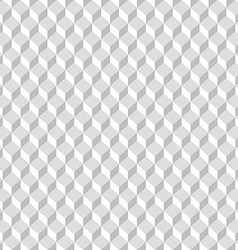 Abstract background with cubes Seamless pattern vector image vector image
