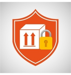 box package icon vector image