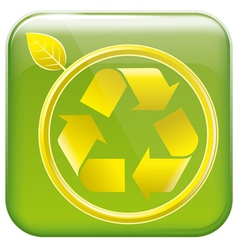 App icon and pictogram resycling vector