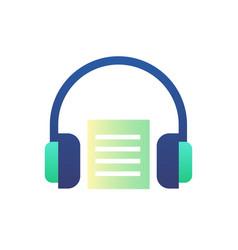 Audio book gradient vector