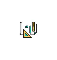 design icon design startup icon design vector image