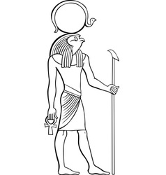 Egyptian Pharaoh vector