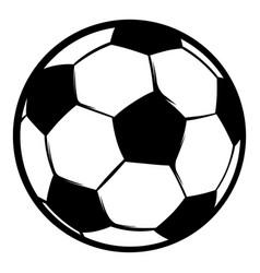 Football ball icon icon cartoon vector
