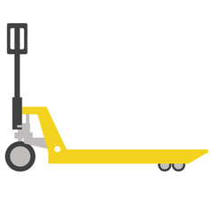 Load trolley flat vector