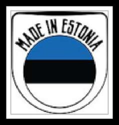 Made in Estonia rubber stamp vector