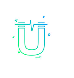 power icon design vector image