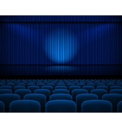 Theater hall vector image