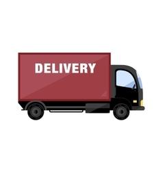 Delivery Van icon vector image vector image