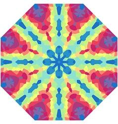 Symmetrical decorative design vector