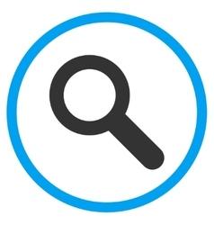 Look Flat Icon vector image vector image