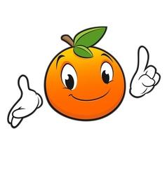Cartoon Orange vector image vector image