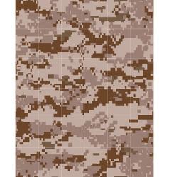 Military desert camouflage tileable vector