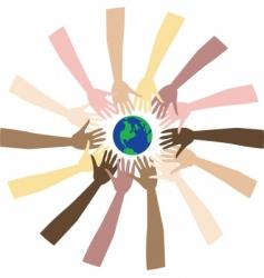 world peace vector image