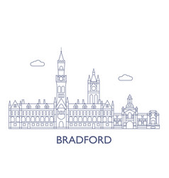 bradford vector image