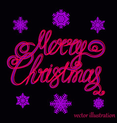 christmas lilac background vector image
