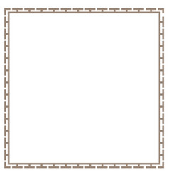Greek frame border vector