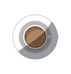 Isolated chocolate drink design vector