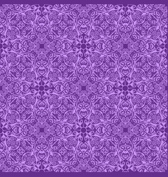 lilac vintage pattern vector image