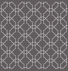 Line net geometric seamless pattern vector