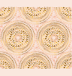 rose gold abstract luxury style seamless pattern vector image
