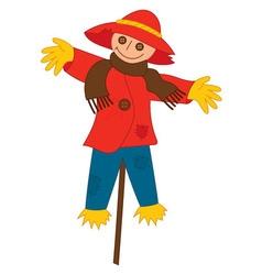 Scarecrow on Stick vector