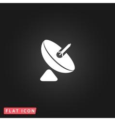 Simple icon antenna vector