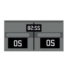 sports scoreboard device vector image