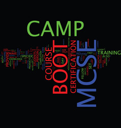 Your in the army now so welcome to the mcse boot vector