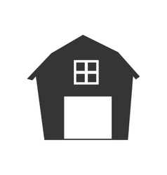 Barn house farm ranch icon graphic vector