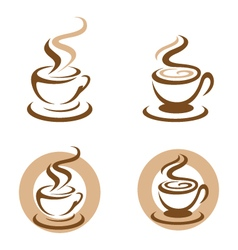 Coffee Icon Logo Template icon design vector image