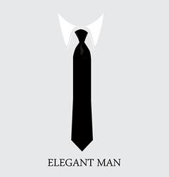 Elegant man background vector
