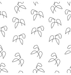 Gorilla pattern seamless vector