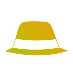 hat accessory fashion object vintage design image vector image