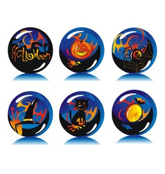 magic balls vector image vector image