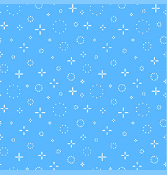 Memphis seamless pattern fashion style 80-90s vector