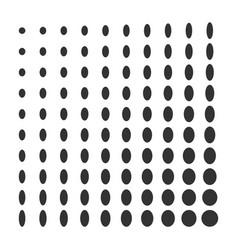 minimal monochrome dynamic halftone background vector image