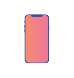 mobile phone icon sign symbol vector image