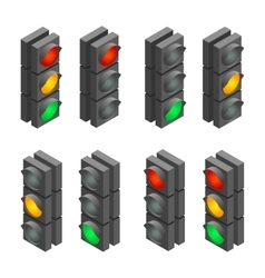 Traffic signal Traffic light traffic light vector image