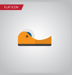 isolated adhesive tape flat icon sticky vector image