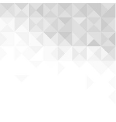 abstract gray background with triangles and lines vector image