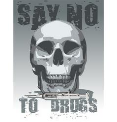 Anti-drugs icon vector