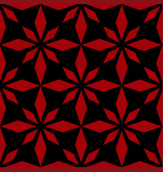 Art abstract geometric dark red black pattern vector