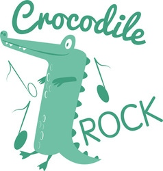 Crocodile Rock vector