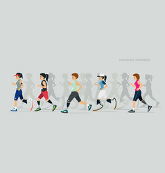 Disabled runners vector
