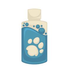Icon pet shampoo symbol animal care vector