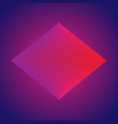 modern gradient diamond template vector image
